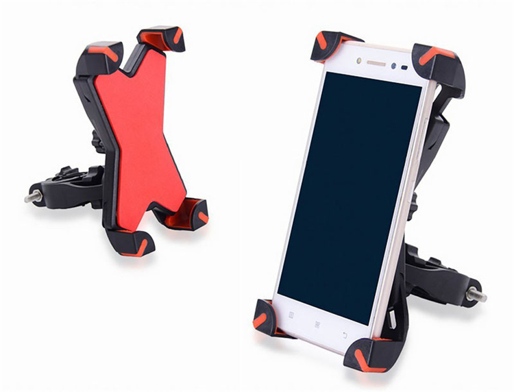 Universal Bicycle/Motorcycle Phone Holder With Secure Grip For Car Bike 9