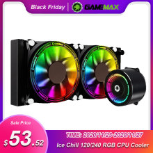 CPU Cooler Liquid-Water-Cooler Gamemax Rgb Lga 2066 AM3 Amd Am4 FM2 All-In-One Intel