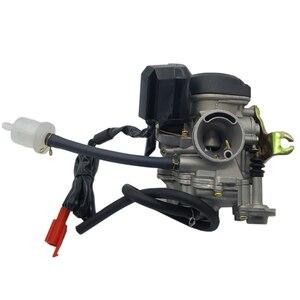 Image 3 - Carburateur de moto de Carb CVK de gros alésage de 20mm pour le chinois GY6 50cc 60cc 80cc 100cc 139QMB 139QMA Scooter cyclomoteur ATV Kart