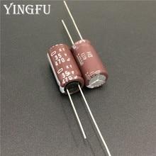 100 sztuk 470uF 35V NIPPON NCC KY seria 10x20mm niska impedancja długa żywotność 35V470uF aluminium kondensator elektrolityczny