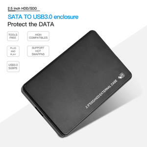 2,5 дюймов SSD HDD Внешний чехол SATA к USB 3,0/2,0 5gbps адаптер жесткий диск корпус HDD диск коробка для Windows 7/8/10/Mac OS