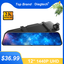Car-Rearview-Mirror Dvr Mirror Camera Video Auto-Recorder Night-Vision FHD 1080P