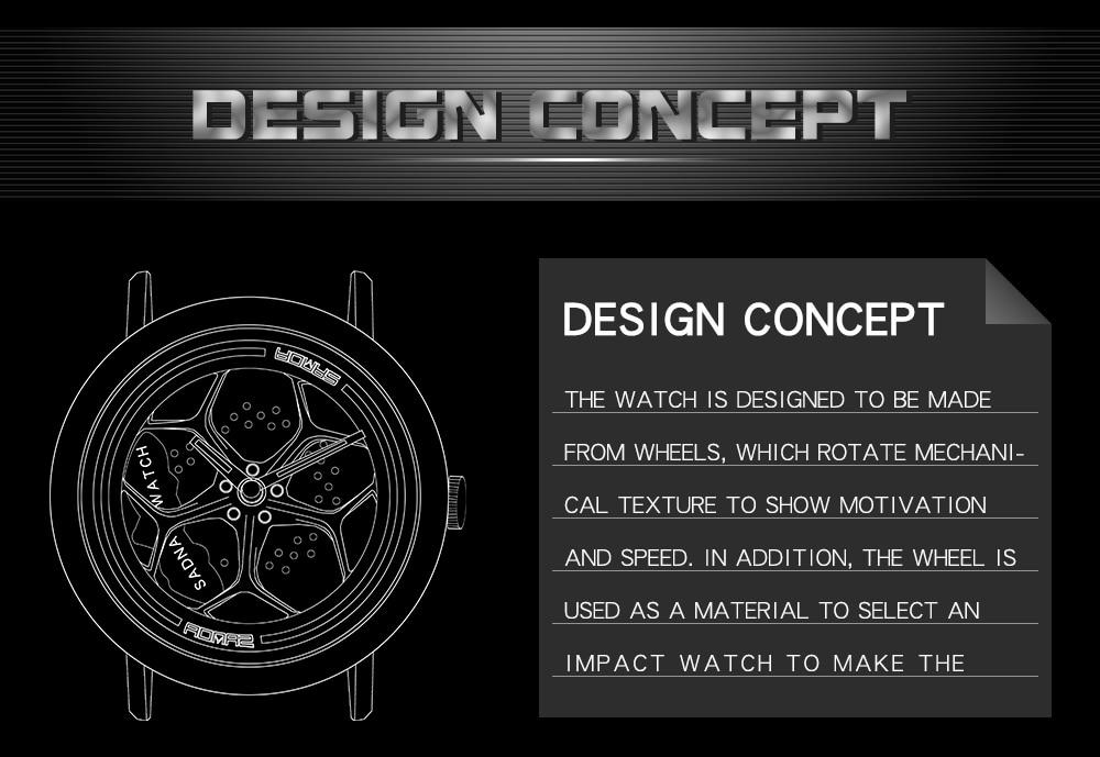 H91288192011e4fc2a0624f46ac283808j Men's Watch 360 Degree Wheel Rotation Creative Quartz