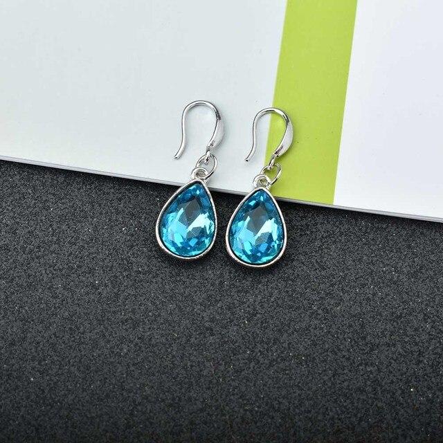 Geometric Holographic Mosaic Dangle Earrings
