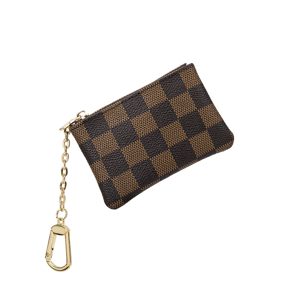 Luxury Clutches Women Bag Take A Card Coin Bag Classic Zipper Durable Fashion Bag Accessories Pu Leather Card Package Ladies