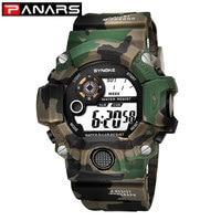 PANARS G style choc militaire armée hommes montre Camouflage montre LED rétro-éclairage numérique reloj deportivo hombre militar