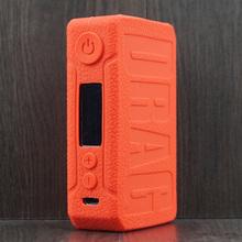 Ochronna silikonowa obudowa z tekstury na VOOPOO przeciągnij 2 zestaw z modem Vape skóry pokrowiec Wrap żel tanie tanio momovaping Dekoracyjna opaska osłona torba ochronna CN (pochodzenie) Texture Case skin cover Silicon VOOPOO Drag 2