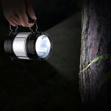Portable Chargable Solar Power Rechargeable Battery LED Flashlight Outdoor Camping Tent Light Lantern Lamp