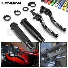 For Suzuki GSR 600 400 Motorcycle CNC Brake Clutch Lever & 7/8 22MM Handlebar Grips GSR600 06-11 GSR400 08-12 Accessories