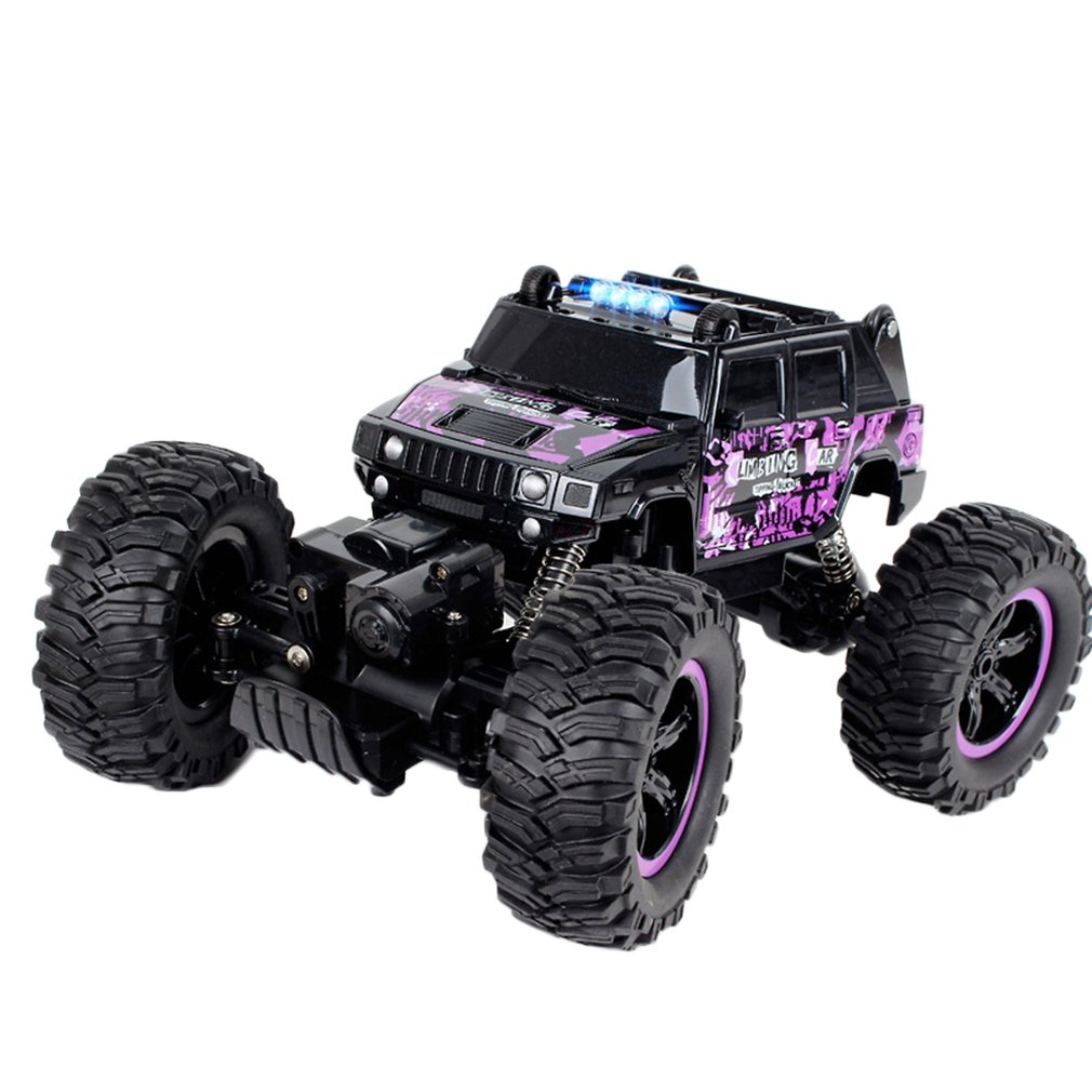 Remote Control Car High Speed Off-road Four-wheel Drive Big Foot Climbing Car Boy Charging Children Toy Car