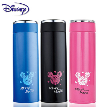 Disney Simple Minnie Mickey Minnie Cup 304 Austenitic Stainless Steel Lightweight Vacuum Stainless Steel Cup 430ML germany aaron flow cup viscometer stainless steel zahn 4 for printing