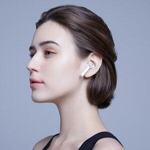 Image 4 - Original Xiaomi Mi True sans fil écouteurs Air Lite TWS Bluetooth casque AAC robinet contrôle stéréo double micro ENC avec micro mains libres