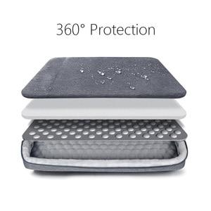 Image 2 - Shockproof Laptop Bag 13 14 15.6 inch Laptop Sleeve for MacBook Air Pro 13 Matebook 14 Sleeve Women Men Solid Laptop Handbag