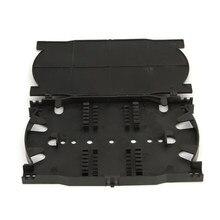 10 stk/partij 12 Cores 24 Cores Fiber Optic Splice Lade voor FTTH Glasvezel Beëindiging Doos