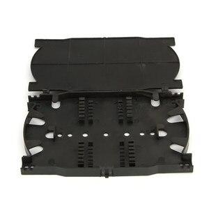 Image 1 - 10 stk/partij 12 Cores 24 Cores Fiber Optic Splice Lade voor FTTH Glasvezel Beëindiging Doos