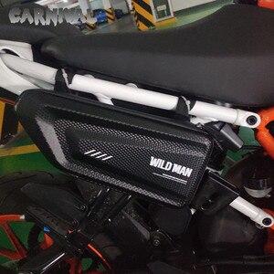 Image 5 - 야마하 XSR700 XSR900 XJ6 FZ1 FZ6 FZ8 수정 된 하드 쉘 삼각형 가방 패키지