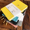 Дневник в горошек BUKE, блокнот в сетку, альбом-альбом из искусственной кожи, плотная бумага 160 г/см, внутренний карман, эластичная застежка, де...