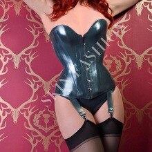Женский сексуальный латексный кружевной корсет для ночного клуба(без подтяжек и трусов и чулок