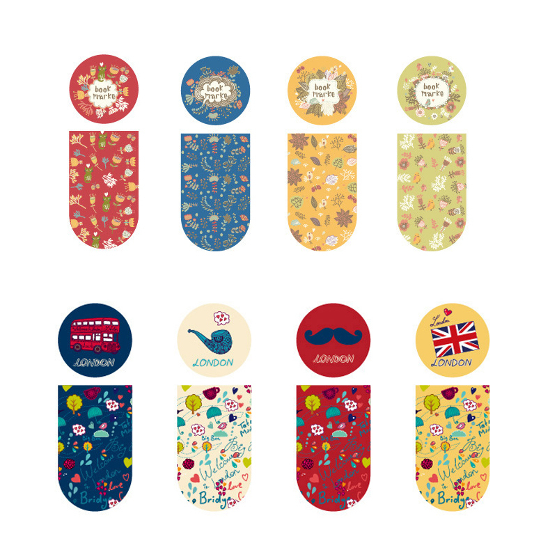 Many Function Lovely Exquisite Magnetic Bookmark 4 Election Kawaii Accessories Stationery Items