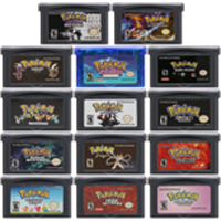 Video Game Cartridge Console Card 32 Bits Pokeon C Collection English Language For Nintendo GBA video game cartridge console card 32 bits pokeon d collection english language for nintendo gba