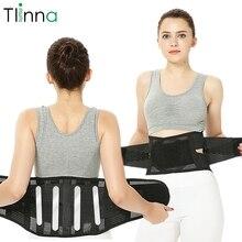 Cinto de apoio da coluna ortopédica do espartilho da parte traseira da terapia magnética ajustável do instrutor da cintura abdominal para homens