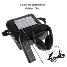 цена на OOTDTY Water Leak Detector Water Tank Pipe Electronic Stethoscope Car Noise Diagnostic
