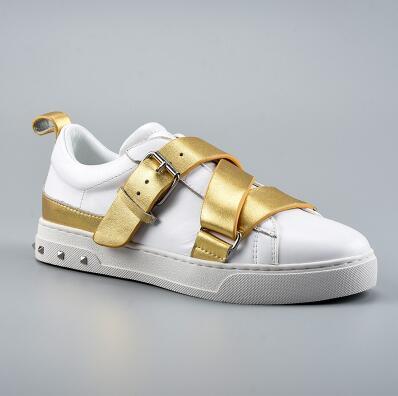 2019 zapatillas mujer; Повседневная обувь; женская обувь на плоской подошве; Высококачественная Брендовая обувь из натуральной кожи; Размеры 35 41 - 3