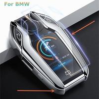 Carcasa de TPU para llave completa de coche  carcasa completa para llave remota  Protector para BMW 7 Series 740 6 Series GT 5 Series 530i X3 Carcasa de llave para coche     -