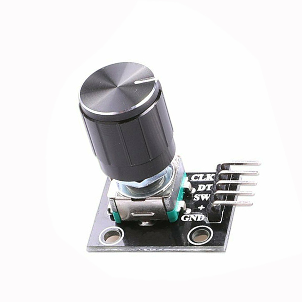 1pcs 360 Degrees Rotary Encoder Module Brick Sensor Switch Development KY-040 (With Knob Cove)