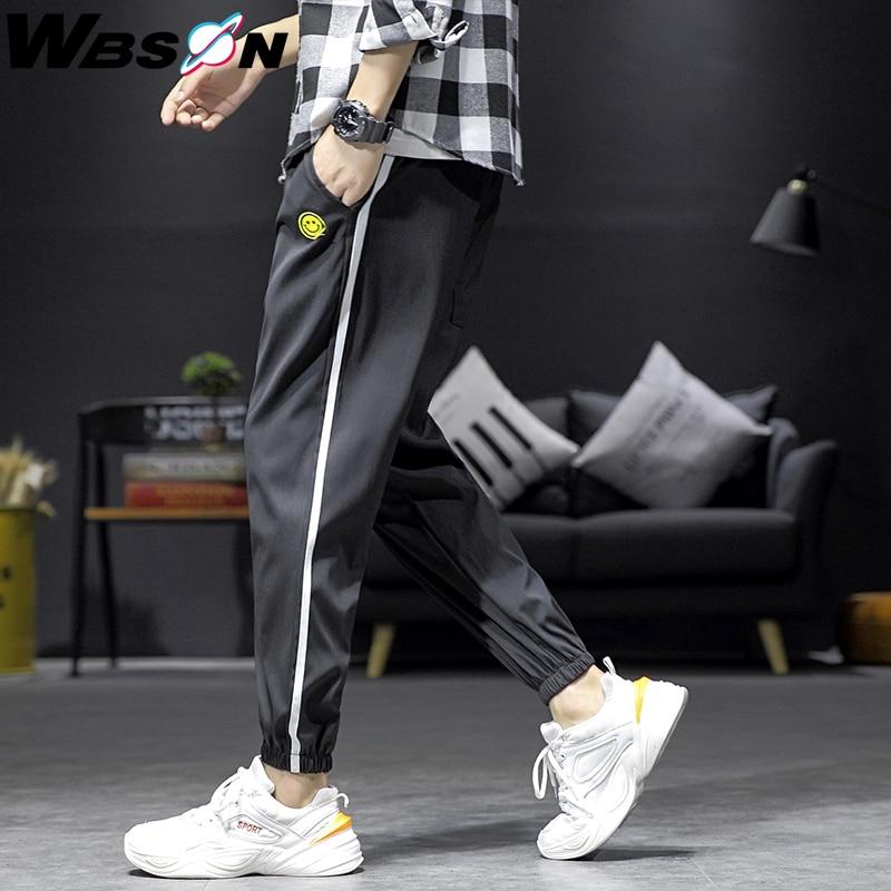 Wbson 2020  Casual Sport Joggers Pants Men Streetwear Men Fashion Harem Pants Trousers Male M-4XL JN9156