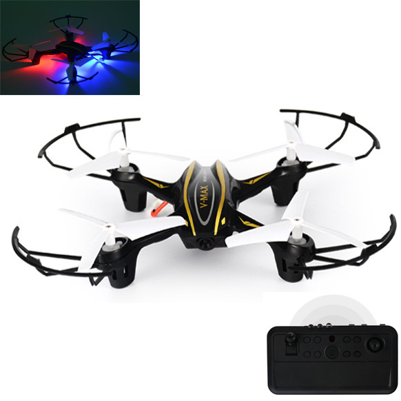 New Style Four-axis Remote Control Aircraft Chargeable Wireless Remote Control Plastic Drop-resistant Unmanned Aerial Vehicle CH