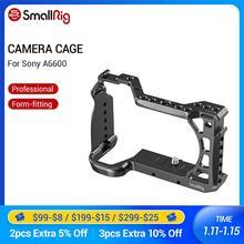 SmallRig A6600 Kamera Käfig für Sony A6600 Dslr Käfig Mit Kalten Schuh und Arri Ortung Löcher Stativ Schießen Käfig Zubehör 2493