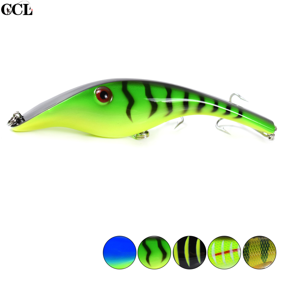 CCLTBA Jerk Bait for Fishing <font><b>140MM</b></font> 43G Hard Body Sinking Pike Musky Wobblers Fishing Tackle image