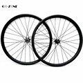 Асимметричные колеса для горного велосипеда 35x25 мм XC/AM бескамерные колеса FASTace DA206 через ось 100x15 мм 142x12 мм mtb ступицы дисков колесная