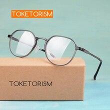 Toketorism quality polygon ULTEM(PEI) frame aluminum-magnesium alloy arms prescription women men glasses 1911