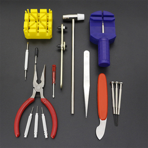 Image 5 - 16Pcs 시계 수리 키트 전문 스프링 바 도구 세트, 시계 배터리 교체 도구 키트, 시계 밴드 링크 핀 도구 세트