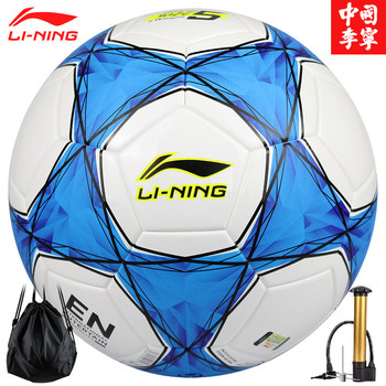 Li Ning LI-NING No. 5 machine-sewn match football adult children football LFQK039-2 цена 2017