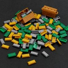 ゴールドマネー都市のビルディングブロックアクセサリー地金 100 ドル紙幣友人銀行バーシルバー海賊宝フィギュアdiyのレンガのおもちゃ