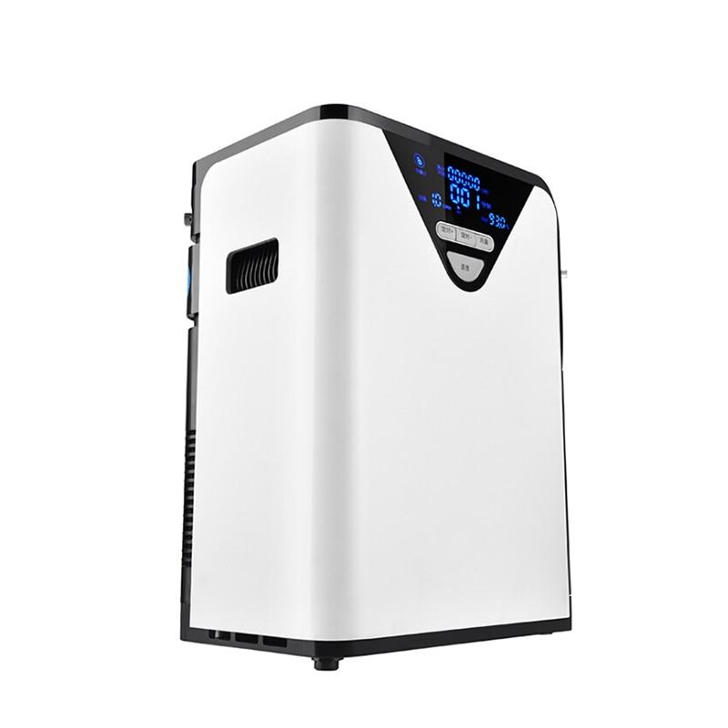1-6л/мин портативный кислородный концентратор генератор кислорода делая машину домашний Регулируемый очиститель воздуха высокой чистоты к...