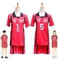 Haikyuu Nekoma Tetsurou Kuroo Kenma Kozume School Uniform Cosplay Costume Haikiyu Volleyball Team Jerseys Sportswear