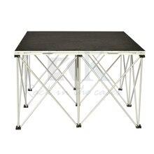 Ковер 3' x 3' платформа 8 ''высота RK смарт-сценический, портативный сценический комплект, модульная сценическая платформа, портативный алюминиевый сценический