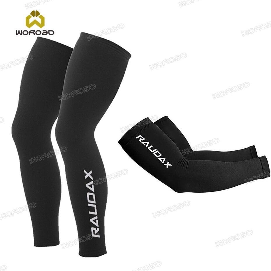 Велосипедные грелки Raudax 2021, черные, белые дышащие грелки для рук с УФ-защитой, велосипедные гетры для бега, гонок, горных велосипедов, рукава ...