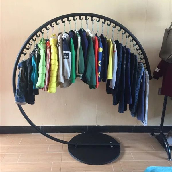 Iron Hat Rack Landing Clothes Rack Indoor Simple Fashion Hangers Clothing Display Rack