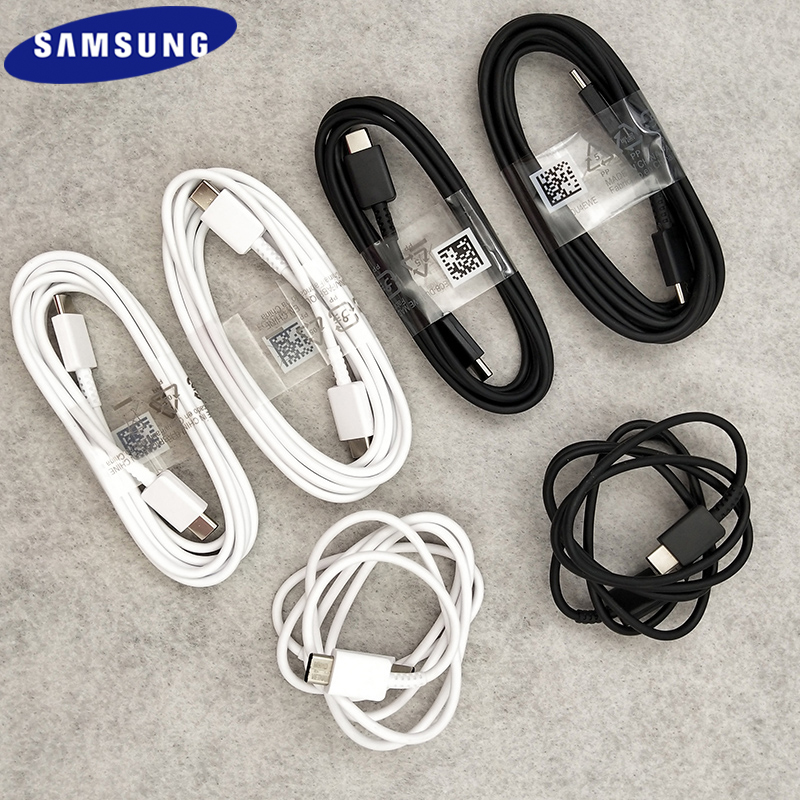 1/1.5/2 м оригинальный кабель Samsung Note 10 USB Type C для USB C кабель для быстрой зарядки для Galaxy S20 Plus A51 A71 A91 5G
