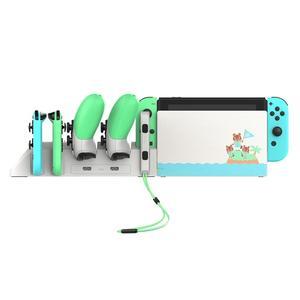 Image 5 - Tay Cầm Chơi Game IPega PG 9187 6 Trong 1 Dock Sạc Chân Đế Phù Hợp Với Nintend Công Tắc Điều Khiển Cho Máy Nintendo Switch Pro Chơi Game Sạc chân Đế