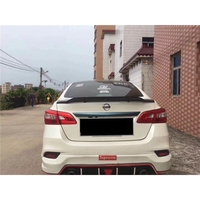 for Nissan Sylphy sentra spoiler 2012 2018 year carbon fiber/FRP rear wing R style Sport Accessories