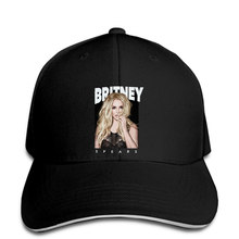 Baseball Cap Men S Britney Spears Graphic - Lava Stone Black Graphic snapback hat Peaked(China)