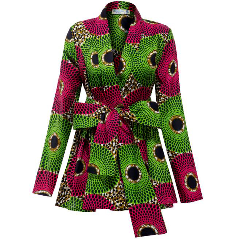African Women Clothes Fashion Jacket African Jacket Ankara Print Jacket Autumn Clothes African Traditional Clothes For Women