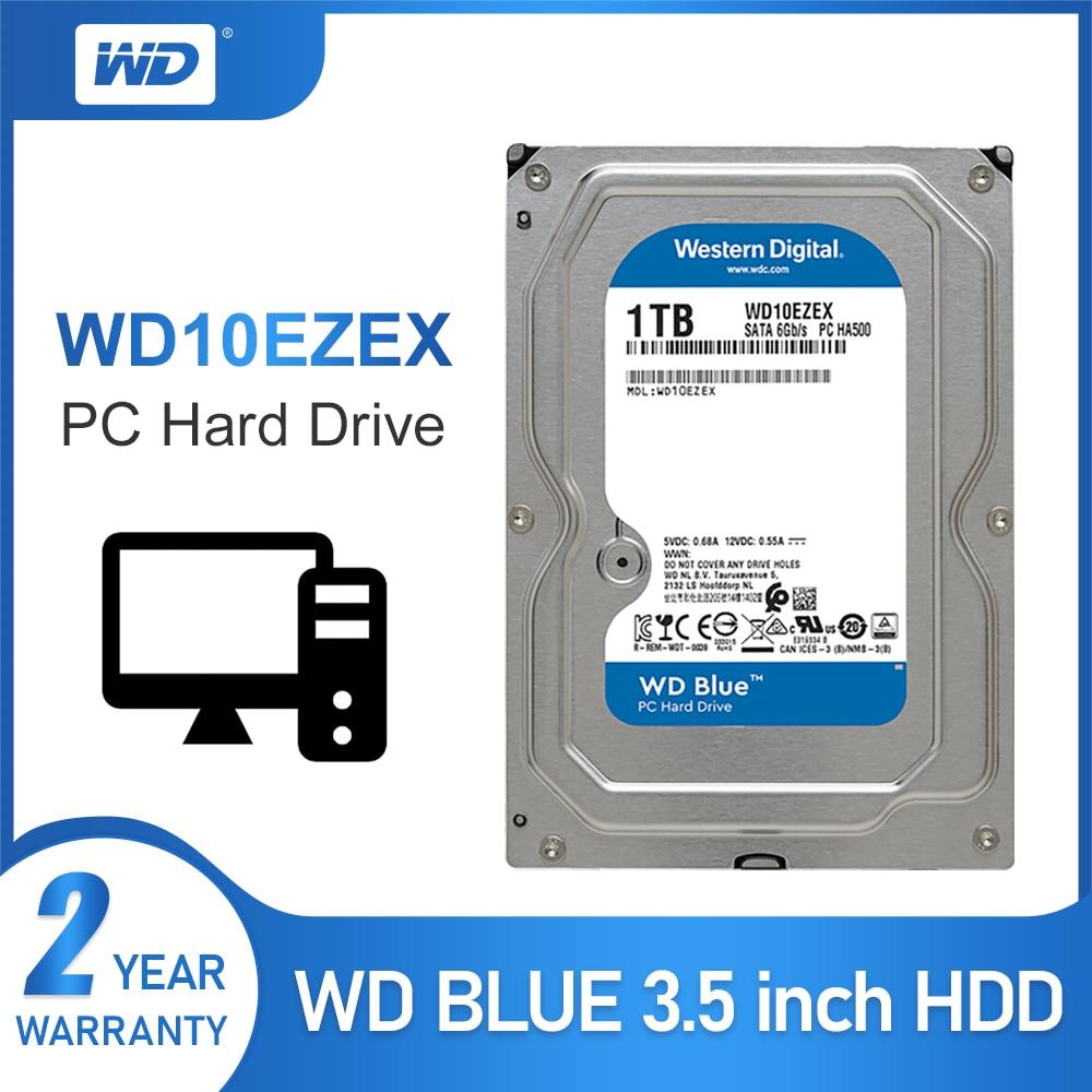 WD Blue 1 TB 3.5-inch SATA 6 Gb//s 5400 RPM PC Hard Drive