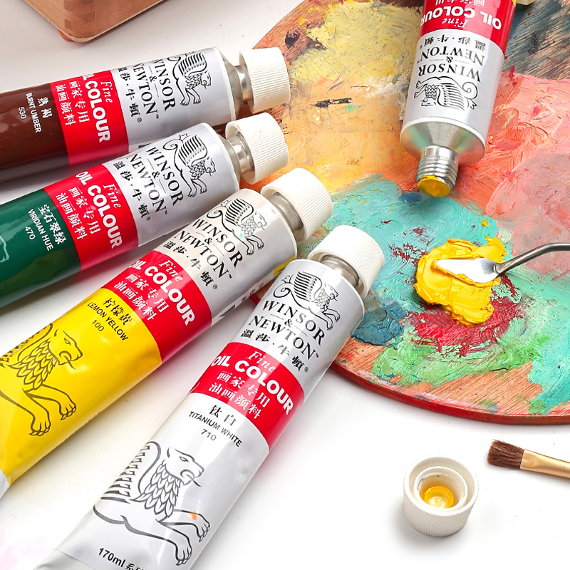 Winsor&Newton 170ml Professional Oil Paints Oil Painting Pigment For Artist Painting Supplies